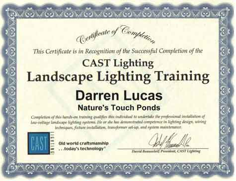 Cast Lighting Landscape Lighting Training