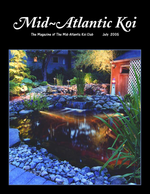 Mid-Atlantic Koi Club Cover July 2005