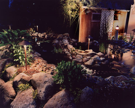 Pond Lighting System